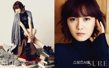 Con una clara actitud por la vida y una visión que revela a la revista.Koo Hye Sun en una mujer activa en diversas áreas, esta mujer en su madurez tiene su propio encanto.