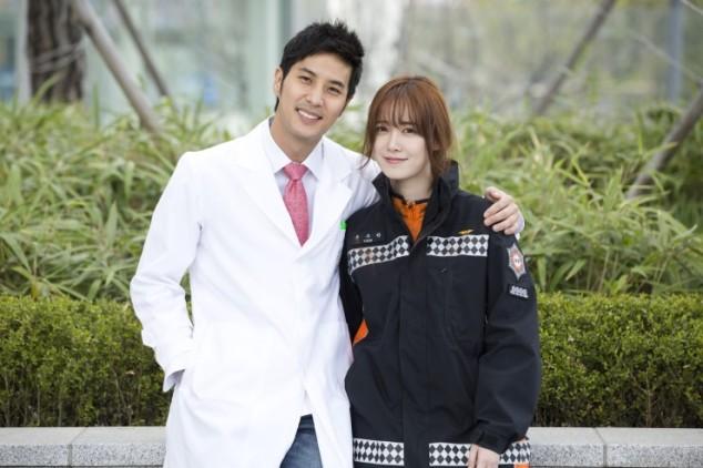 2014-04-10 Ku Hyesun y Kim Ji Seok para Angel Eyes 01