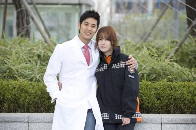 2014-04-10 Ku Hyesun y Kim Ji Seok para Angel Eyes 03