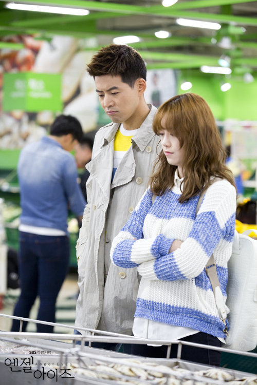 2014-05-14 Fotos oficiales Koo Hye Sun-Angel eyes 04